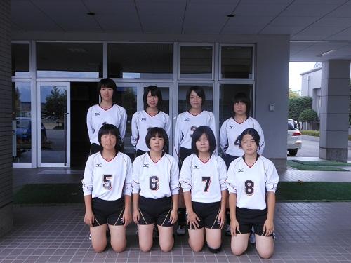 女子バレーボール部