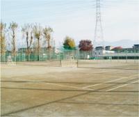 施設紹介 テニスコート(西側)