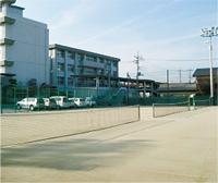 施設紹介 テニスコート(東側)