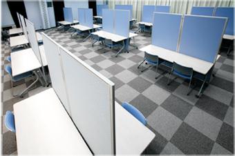施設紹介 フロンティアホール内自習室
