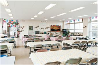 施設紹介 学生食堂