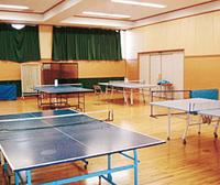 施設紹介 卓球場