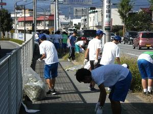 ボランティア清掃6